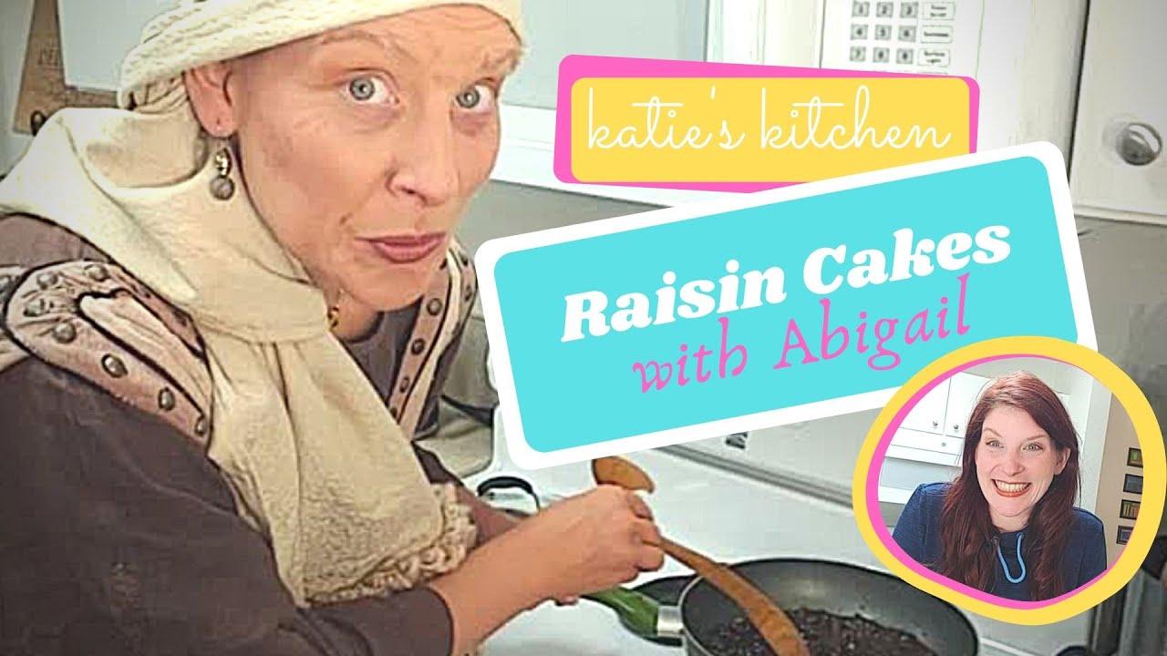 Baking Raisin Cakes with Abigail, Wife of King David