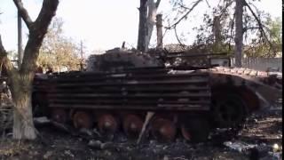Война видео Украина По местам боев на Донбассе   YouTube