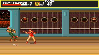 Streets of Rage 1 Gameplay (Easy) (Sega Genesis)