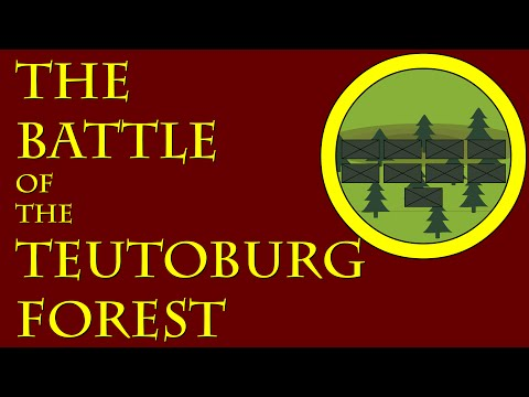 The Battle Of The Teutoburg Forest (9 C.E.)