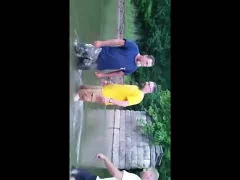 Kevin Fry's baptism