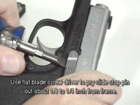 Repeat Kahr CW9 Slide Disassembly by Gspsx - You2Repeat