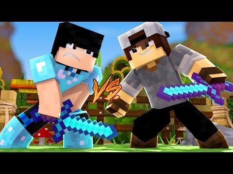 Minecraft: TROCA PVP - GANHEI NO PVP SEM ARMADURA!