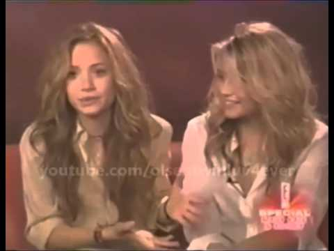 Mary-Kate & Ashley Olsen Talking About Their Creepy Fans XD