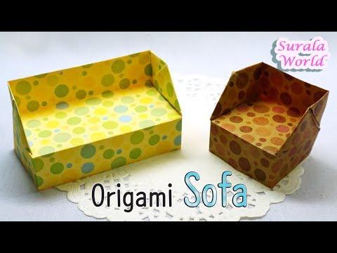 Origami - Sofa (Cauch, chair, furniture)