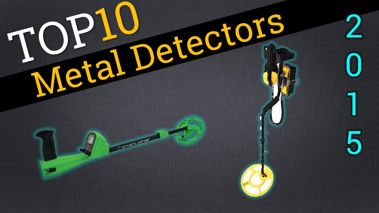 Top 10 Metal Detectors 2015 | Compare Metal Detectors - YouTube