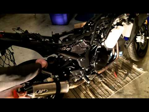 2009 Ninja 250r pulling carbs out real-time