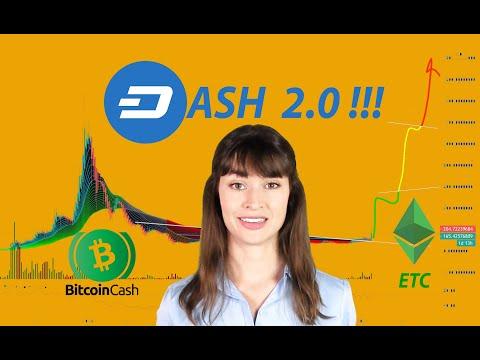DASH 2.0: ОБНОВЛЕНИЕ СЕТИ / ЦЕЛИ ПО DASH, ETC и BCH / MyDashWalletBot