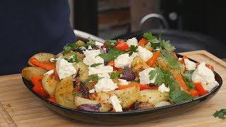 Ziemniaki pieczone z cebulą i papryką / Oddaszfartucha