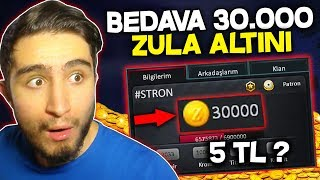 OHAA !! 5 TL'YE 30.000 ZULA ALTINI ALMAK !! RESMEN BEDAVA !! ZULA
