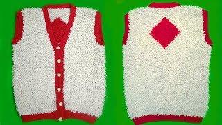 New Design of Half Jacket for Children Easy Tutorial | Fashion & Design | Apoorvi Creation