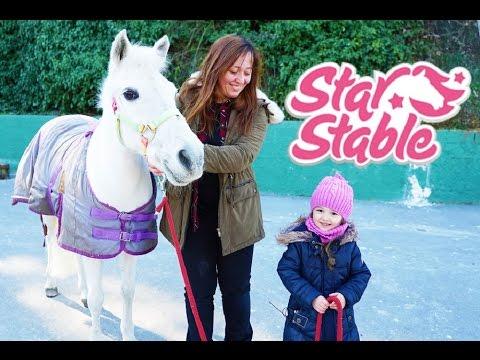 At Çiftliği Maceramız STAR STABLE SÜRPRİZİ İle Katlanarak Büyüyor -Eğlenceli Çocuk Videosu