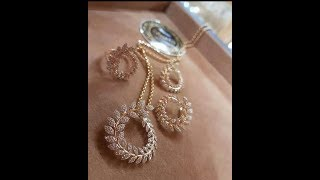 Light weight gold Combo sets |chain pendants sets designs