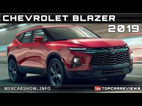 2019 Chevrolet Blazer Review Rendered Price Specs Release Date