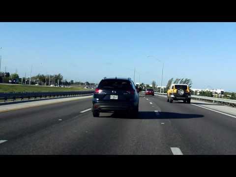 Sawgrass Expressway (FL 869 Exits 1 to 11) northbound