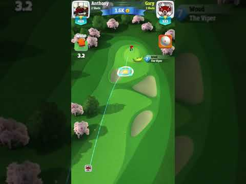 Golf Clash rocket ball. What the hell.