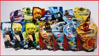 видео: COMPILATION LEGO NINJAGO SPINJITZU ALL 2019 SETS