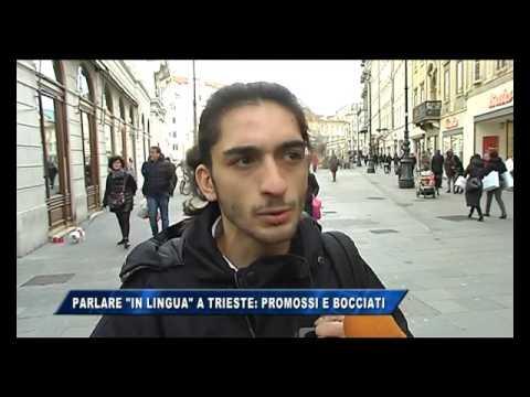 08/02/2017 - PARLARE IN LINGUA A TRIESTE: PROMOSSI E BOCCIATI