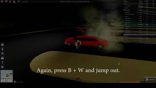 Roblox Ultimate Driving | Drift/Burnout Glitch!