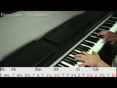 Penny Lane - The Beatles. Numerical Tones Tutorial.