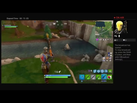 Fortnite Gameplay Win?/? Solos
