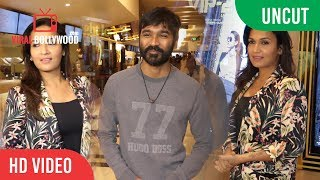 UNCUT - Dhanush And Soundarya Rajinikanth At Special Screening | VIP- 2 Lalkar