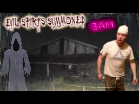 (SUMMONED) SHOCKlNG PARANORMAL Captured at Abandoned Haunted House during *3AM Challenge*