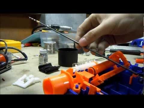 Replica Nerf M4 M16 Blaster Retaliator Mod 3d P