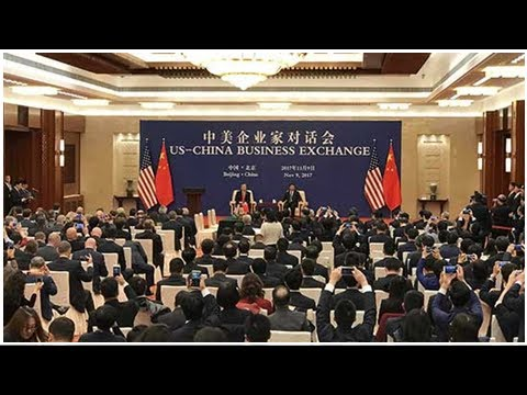 China, us hold business exchange in beijing - people's daily online