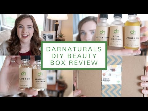 DarNaturals DIY Organic Beauty Box Unboxing + Review