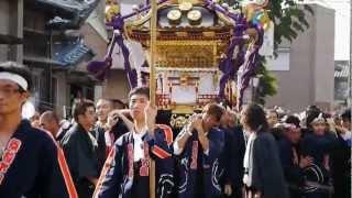 2012萱田町時平神社の祭礼