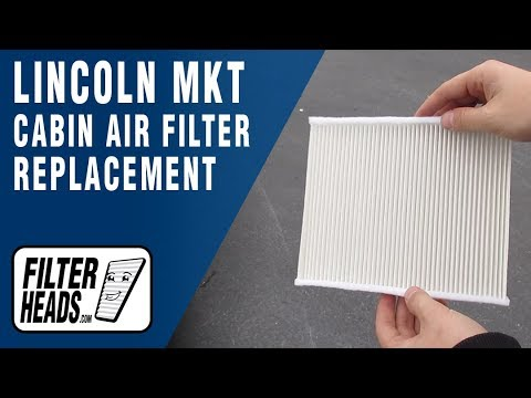How to Replace Cabin Air Filter 2010 Lincoln MKT