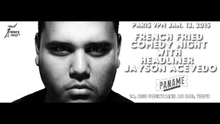 Jayson Acevedo at French Fried Comedy Night