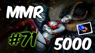 Рейтинговая Игра Дота 2 - Как Поднять ММР на Квапу Queen of Pain #71 +Обучалка гайд