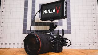 Canon R5 + Atomos Ninja V Setup Tutorial for Nearly Unlimited 4KHQ Recording