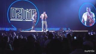 """Ozuna y Romeo Santos cantando en vivo por primera vez el tema """"Ibiza"""""""