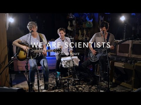 "We Are Scientists ""After Hours"" At Guitar Center"