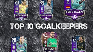 TOP 10 GOALKEEPERS OF FIFA MOBILE 20 AFTER UPDATE! IN-DEPTH REVIEW+PERFORMANCE BREAKDOWN EXPLAINED!!