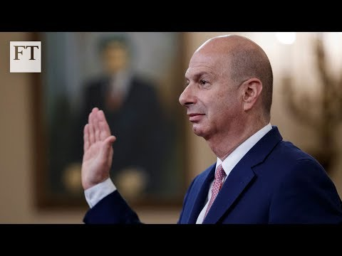 EU envoy implicates Trump in Ukraine coercion   FT