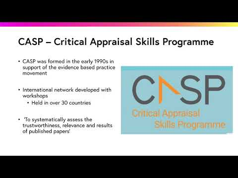 Download Critical Appraisal Skills Programme CASP