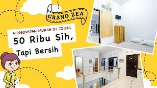 Review Penginapan Murah di Jogja: Grand Zea (50 rb / kamar, tahun 2021)