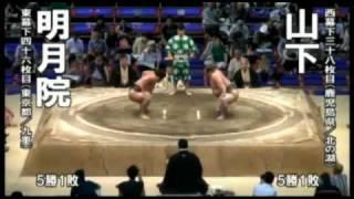 2011年 大相撲名古屋場所 明月院(千代大龍) 全取組 ※対戦相手は...増三...