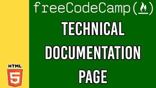 Technical Documentation Page   Responsive Web Design Principles FreeCodeCamp Certfication