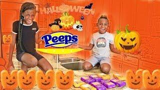DJ Eats Halloween Peeps Johny Johny Yes Papa!!