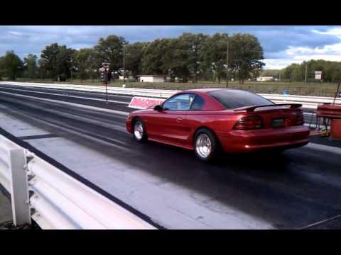 1994 Mustang Gt 347 Drag Race Youtube