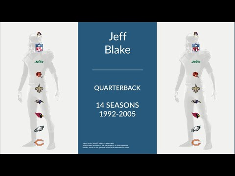 Jeff Blake: Football Quarterback