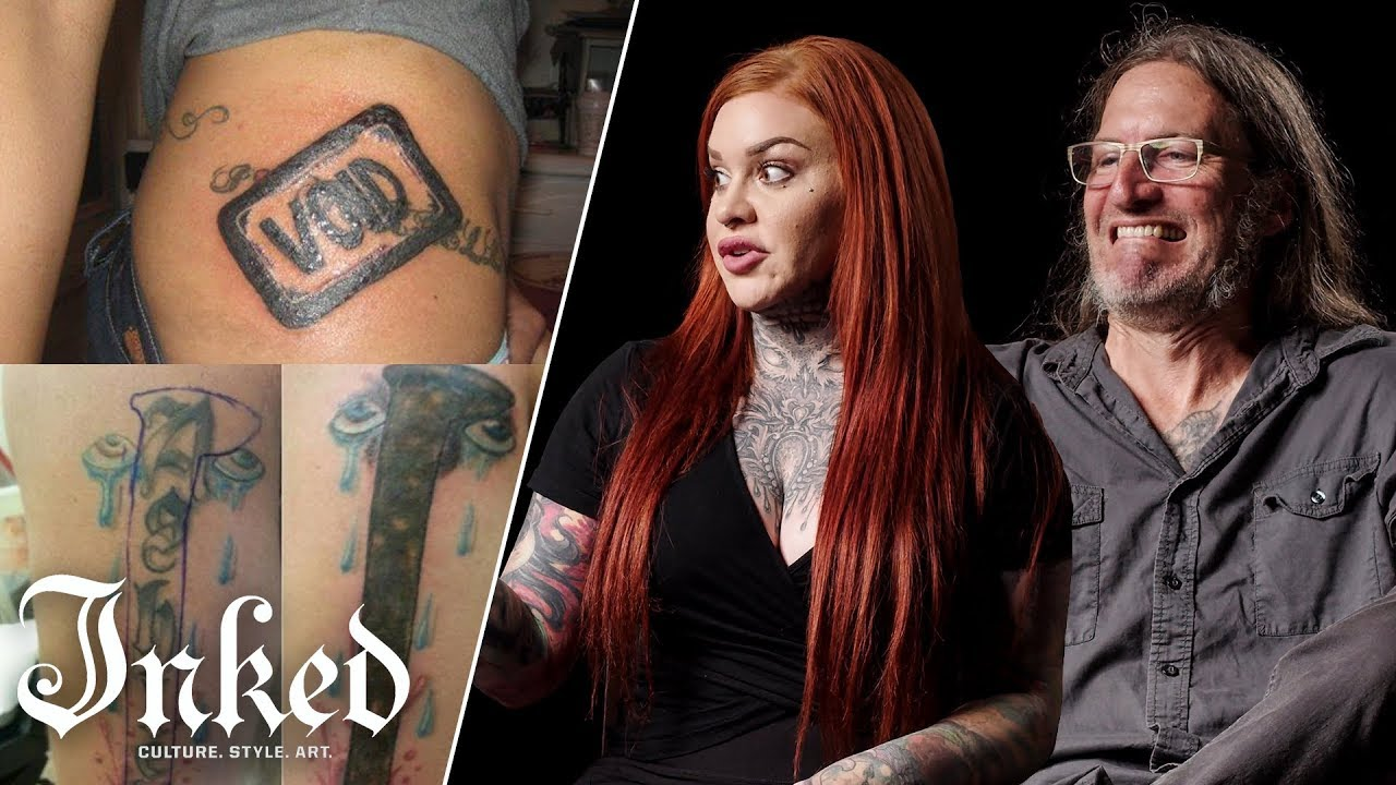 Tattoo Artists React To Bad Cover Up Tattoos | Tattoo Artists Answer
