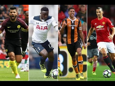 Premier League All 34 Goals Week 4 2016  HD
