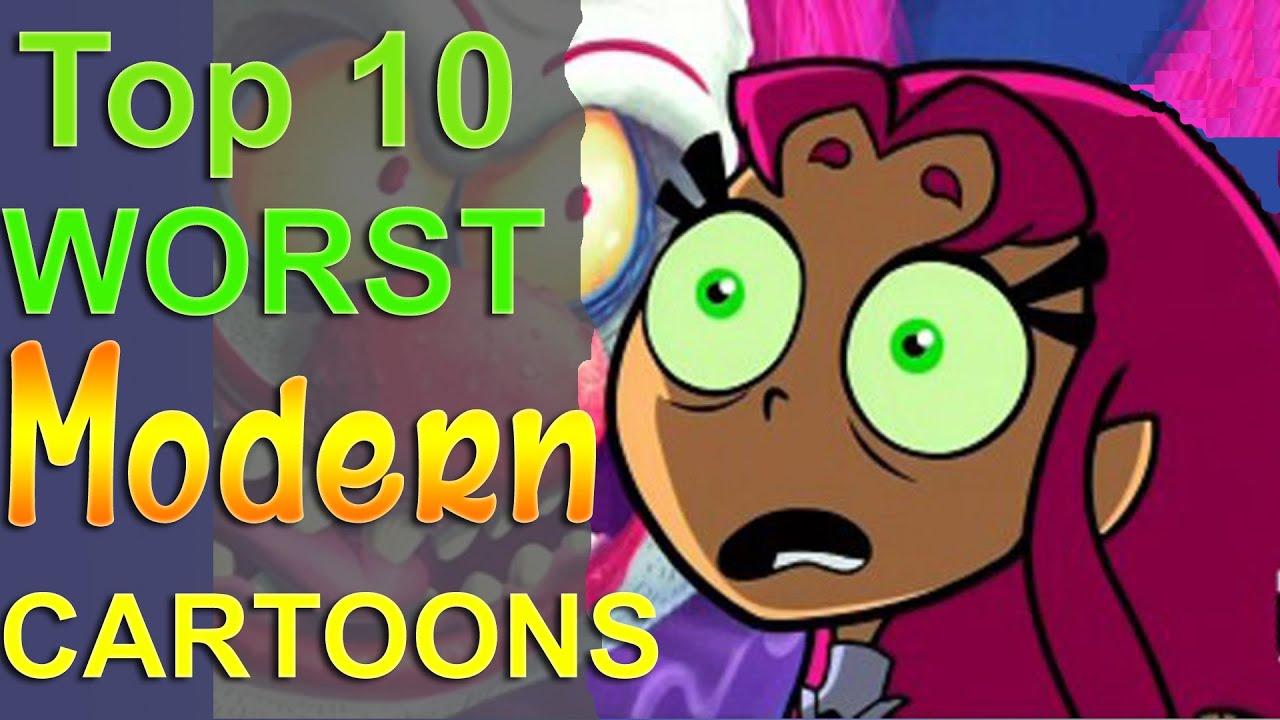 Top 10 Worst Modern Cartoons  YouTube