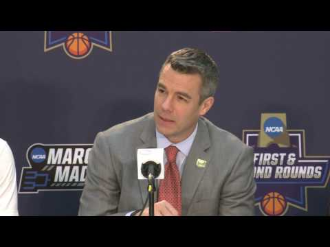 Virginia Post-Game Press Conference: UNCW (Mar. 16, 2017)